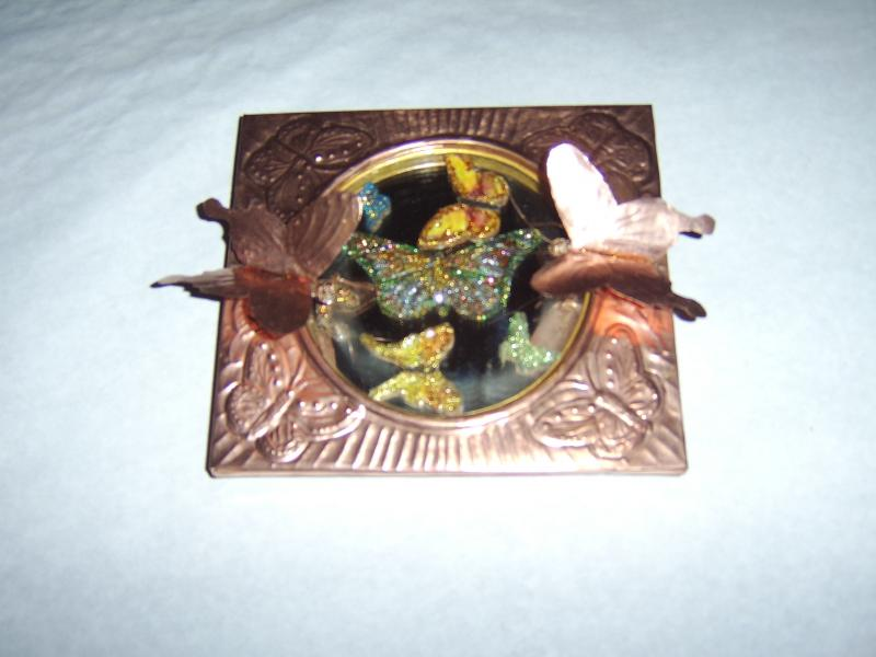 Butterfly Music Box